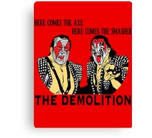 WWF Tag Team - Demolition! Canvas Print