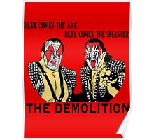 WWF Tag Team - Demolition! Poster