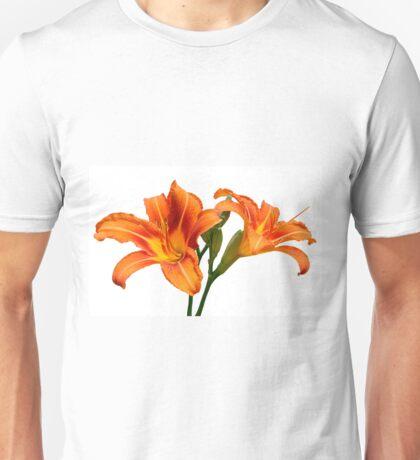 Orange Lilies Unisex T-Shirt