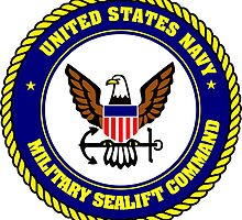 Military Sealift Command Crest by xorbah