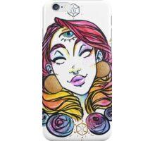 third eye princess watercolor iPhone Case/Skin