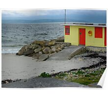 Beach Shop at Salthill Poster