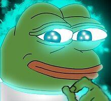 Glowing Frog by xxcrippledxx