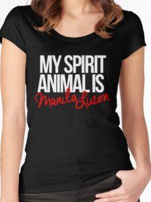 Spirit Animal - Manila Luzon Women's Fitted Scoop T-Shirt