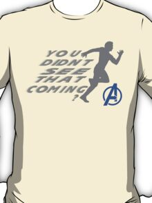 Quicksilver in Avengers T-Shirt