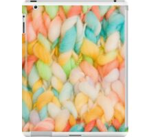 Bright knit background iPad Case/Skin