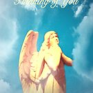 An Angel Thinking of You by Marie Sharp
