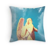 An Angel Thinking of You Throw Pillow