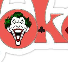 The Joker Logo Sticker
