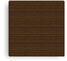 Sepia Wood Grain Texture Canvas Print