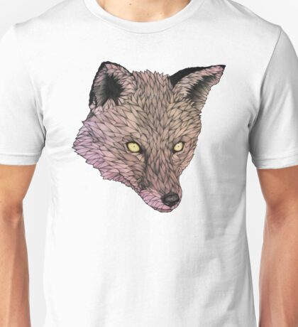Fox Golden Eyes Unisex T-Shirt