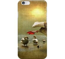 What do you mean I can't dance the Swan Lake iPhone Case/Skin
