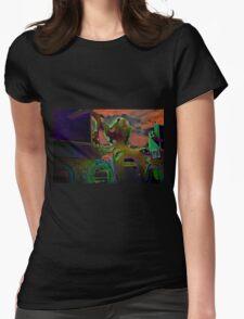 Octopus's Garden Womens Fitted T-Shirt