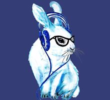 Headphones Bunny Unisex T-Shirt