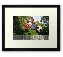 Williamsburg Neighborhood Framed Print
