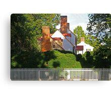Williamsburg Neighborhood Canvas Print