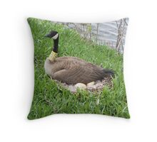 Angry Momma Throw Pillow