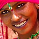 Tribal Woman-Rajasthan by Mukesh Srivastava