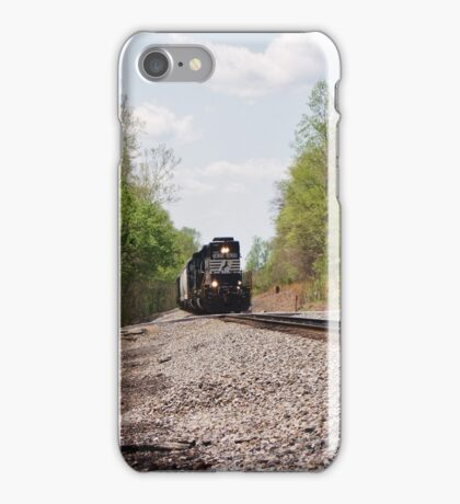 Train coming this way iPhone Case/Skin