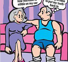 Nibble Cartoon by Mark Maloney