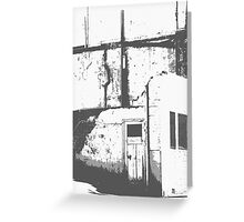 Derelict Notes Greeting Card
