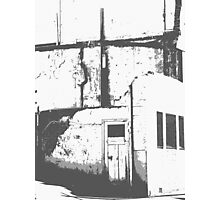 Derelict Notes Photographic Print