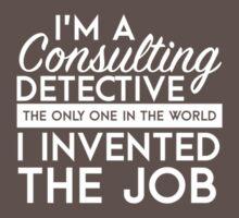 Sherlock - Consulting detective Baby Tee
