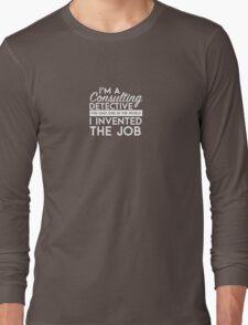 Sherlock - Consulting detective Long Sleeve T-Shirt