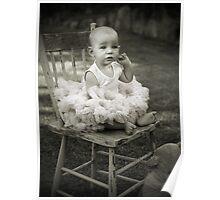 Baby Ballerina Poster