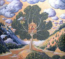 Annunciation of the Tree House by Graham Brown