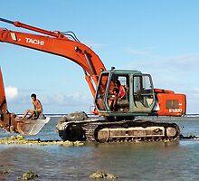 Excavator family by zsaleeba