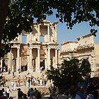 The library of Celsus by zsaleeba