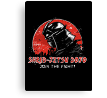Shred-Jitsu! Canvas Print
