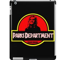Parks Department iPad Case/Skin