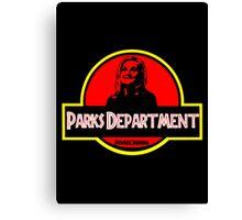 Parks Department Canvas Print