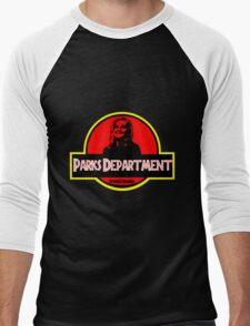 Parks Department Men's Baseball ¾ T-Shirt