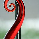 red swirl by Ricky Pfeiffer