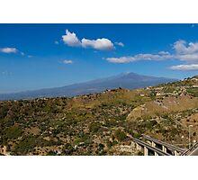Etna volcano Photographic Print