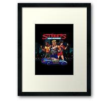 Streets of Rage Framed Print