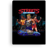 Streets of Rage Canvas Print