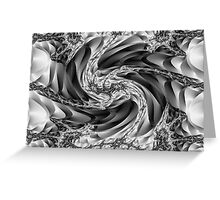 Earth fissure Greeting Card