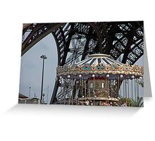 Carrousel Greeting Card