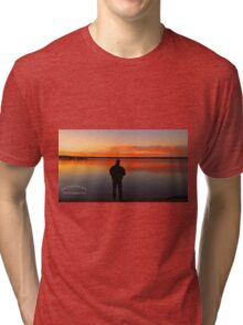 Fishing in God's Country Tri-blend T-Shirt