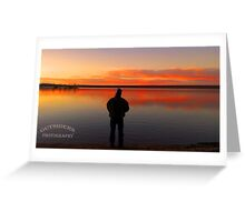 Fishing in God's Country Greeting Card