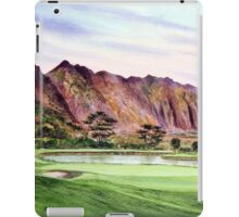 Koolau Golf Course Hawaii  iPad Case/Skin