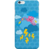 Who Makes the Thunder? - in Blue iPhone Case/Skin