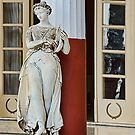 Sculpture of the Muse Terpsichore at the Achillon Palace, Corfu by Gerda Grice