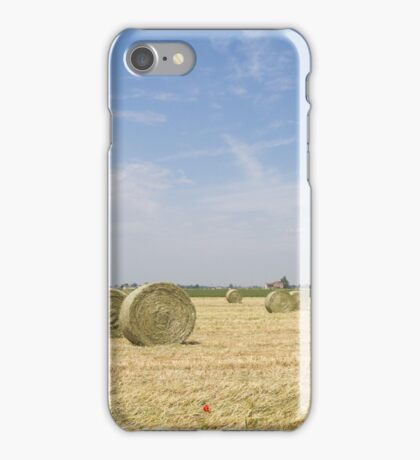 Agriculture landscape iPhone Case/Skin