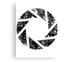 Aperture Science Logo Canvas Print