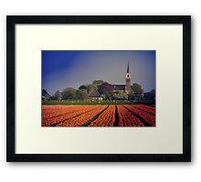 Holland in Spring Framed Print